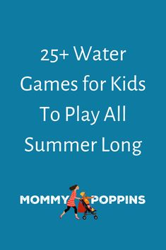 25+ Water Games for Kids To Play All Summer Long Christmas Events, Christmas Fun, Winter Holiday, Holiday Fun, Festive, Kids Things To Do, Stuff To Do, Fun Things, Kid Stuff