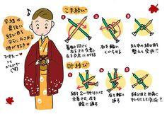 格好よく見せる羽織紐の結び方~着物大好きコミックエッセイスト ほしわにこ連載コラム「オトナの着物生活」 : 着物でお出かけ・着物コーディネート情報をお届け「いち利モールBlog」