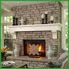 Fireplace - Mantle