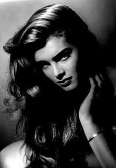 Brooke Shields by George Hurrell