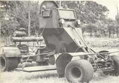 Enter the Rhodesian Pookie, an ugly little contraption that helped clear roads and highways during the Rhodesian Bush War of the Car Bomb, Man Of War, All Nature, Nose Art, Military History, Military Life, Armored Vehicles, War Machine, Military Vehicles