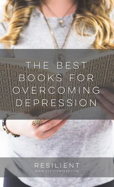 While I was in recovery, I came across a lot of different books and things that helped me figure out my life and get things back on track. These are a few that I love in particular.  Here are the best books for overcoming depression.