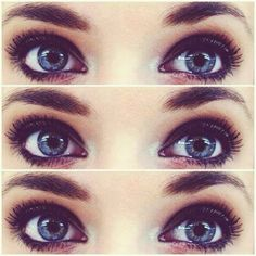 put a dark color at the ends of your eyes to appear wider