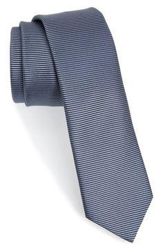 Men's HUGO Stripe Silk Tie