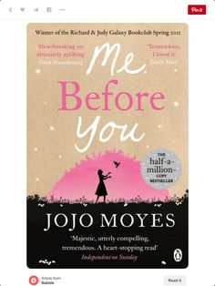 Me before you - jojo moves