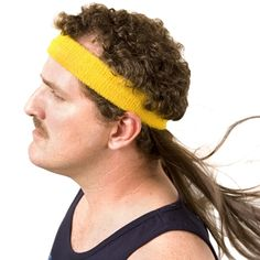 Instant Mullet With Headband