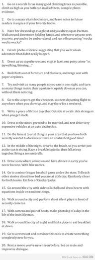 Great date ideas- someone wanna go out on a fun date?
