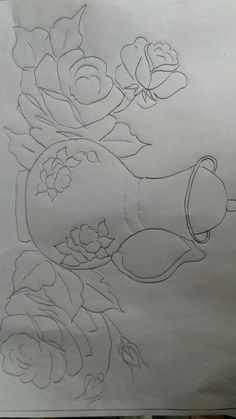 Planet Crafts, Wedding Cake Boxes, Christmas Swags, Plant Drawing, China Painting, Fabric Painting, Wood Art, Flower Pots, Embroidery Patterns