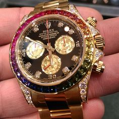 Rolex Watches Collection : What's On Your Wrist? - Watches Topia - Watches: Best Lists, Trends & the Latest Styles Patek Philippe, Audemars Piguet, Breitling, Cool Watches, Rolex Watches, Expensive Watches, Hand Watch, Beautiful Watches, Elegant Watches