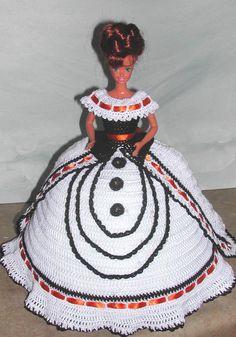 Häkeln Sie Mode Puppe Barbie Pattern 627 von JudysDollPatterns