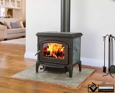 Designed for mid-sized home heating, the Phoenix is made from a hybrid of cast iron soapstone for quick, lasting warmth. Featuring a non-catalytic combustion system and removable ash tray, so clean-up is made easy.