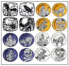 Target Halloween Plate Roundup
