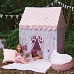 I've just found Fairy Playhouse: 3rd/4th Birthday Gift. Fairy Cottage play tent/playhouse - a lovely ethical gift for a child age 3+ and an ideal 3rd or 4th birthday present.. £245.00