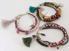 bracelets with tassels boho chic bracelets