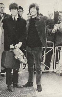John and Paul the boys who grew into men. Everything changed. Looks, interests, music, attitudes, even friendliness. But the thing that didn't change was their brotherhood. That lasted through everything.