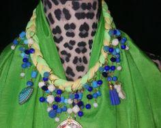frida kahlo necklace large statement jewelry big bold chunky