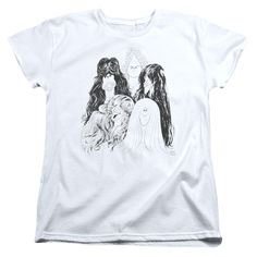 Womens Aerosmith/Draw the Line Tee Shirt