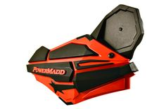 PowerMadd | Wyoming, MN | Sentinel Mirror Kit  The new Sentinel Handguard now has it's own folding mirror system. Folds into the backside of the guard ... functional and looks sharp !