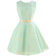 DINGZAN Mini Hoemcoming Dress Prom Gowns for Summer Bridesmaid Dresses ($40) ❤ liked on Polyvore featuring dresses, gowns, green dress, green bridesmaid dresses, green evening gown, mini dress and summer gowns