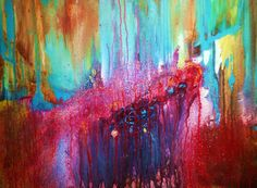 CrazyMo  - Large Original Abstract Paintings By Mo Tuncay - on Etsy