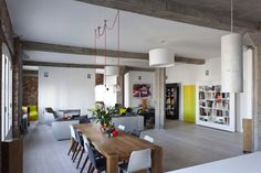 Be Mine Interior Design, Loft concept ! Living room and kitchen are just awesome