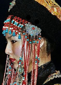 Mongolian Traditional Fashion   flickr  by foto_morgana         Pinned from  flickr.com