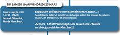 """Exposition Collective """"Une semaine entre autre"""""""