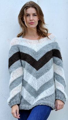 Strik sweater i stil med Sarah Lund   Familie Journal