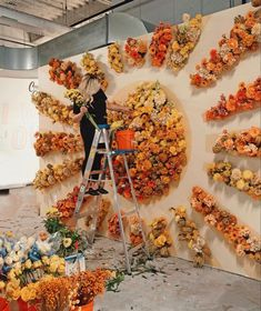 sunshine Flower Decorations, Wedding Decorations, Photo Booth Backdrop, Flower Wall, Event Decor, Event Design, Backdrops, Backdrop Ideas, Wedding Flowers