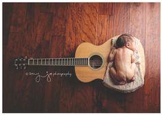 Newborn Session { Guitar }   © Amy Jo Photography 2016 www.AmyJoPhotography.com www.Facebook.com/AmyJoPhotography  #Music #Guitar #NewbornSession Music Guitar, Newborn Session, Music Instruments, Facebook, Photography, Photograph, Musical Instruments, Fotografie, Photoshoot