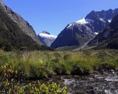 Most pristine places in the world. Southern end of New Zealand's west coast, the Fiordland region is wild, rugged and empty of human development. With high mountains falling into jagged rocky waters, Fiordland has never had any significant permanent population. The native Maori only visited temporarily for hunting, fishing and to collect the jadestone. The region's air currents blow straight up from Antarctica, so Fiordland's air is some of the cleanest on the planet. Here, Fiordland Nat'l Park