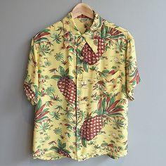 "183 Likes, 15 Comments - Mustachless Mike (@midnorthmercantile) on Instagram: ""Pineapple Express today... I waited patiently in line today to get this 40's rayon Hawaiian shirt…"""