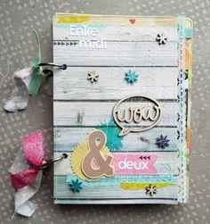 Cute Mini Book from Freckled Fawn Mini Albums Scrapbook, Scrapbook Journal, Calendar Notes, Memory Crafts, Album Book, Leather Books, Handmade Books, Scrapbooking, Smash Book