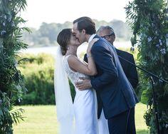 Annabelle Caufman Soudavar and Maximilian Moehlmann Tie the Knot in East Hampton, New York