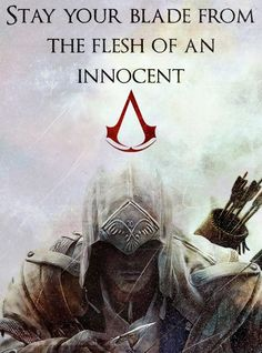 Assassin's Creed: Stay Your Blade from the Flesh of an Innocent