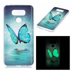 Coque LG G6 Luminous - Papillon Scintillant