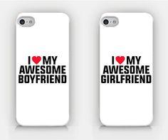 I Love My Awesome Boyfriend / Girlfriend by HeartOnMyFingers