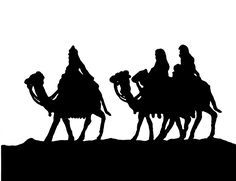 silhouette nativity scene pattern | You Seriously Made That!?: Now you too can trace your Nativity!