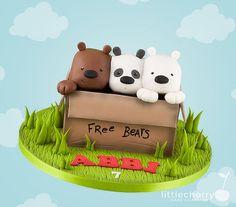 We Bare Bears Cake