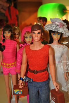 Even back then, Ken was Barbie's GBF. Barbie dated my brother's GI Joe.