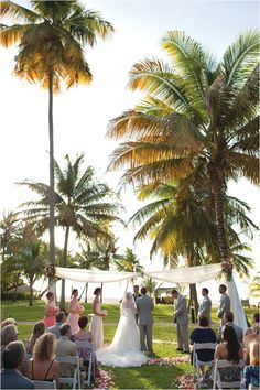 Outdoor Destination Wedding Ceremony ~ Photo: DC Stanley Photography