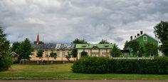 Raahe, Rantakatu street. Northern Ostrobothnia - Pohjois-Pohjanmaa - Norra Österbotten