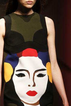Fashion illustration| Prada spring 2014 | http://www.theglampepper.com/p=8332