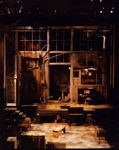 Ma Rainey's Black Bottom. Pittsburgh Public Theatre. Vicki Smith Set Design.