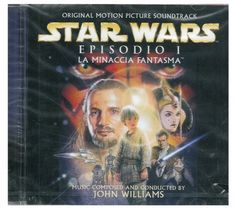 CD STAR WARS 1 MINACCIA FANTASMA MUSICHE NUOVO ORIGINALE SIGILLATO NEW ORIGINAL SEALED