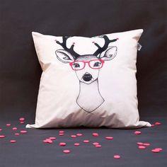 Deer Cushion Cover.