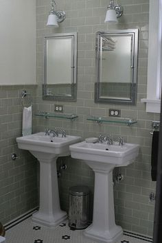 sloped wall bathroom | Bathroom Glass Shelf Design Ideas, Pictures,  Remodel, and Decor