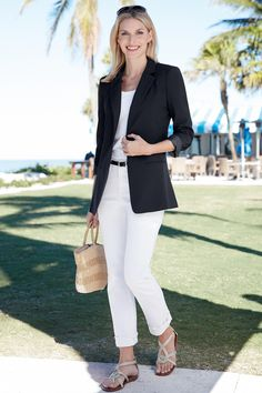 Long Length Boyfriend Blazer