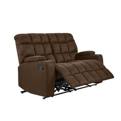 Shop Copper Grove Bielefeld Brown Microfiber 2-seat Recliner Loveseat - 2 Seat - On Sale - Overstock - 20689843 - Brown