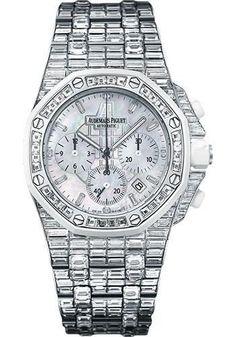 Audemars Piguet - Royal Oak Offshore Chronograph 37mm - White Gold Watch 26114CK.ZZ.9181BC.01